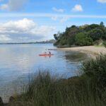 Kayaking in still waters