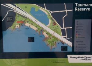 Taumanu Reserve map, Onehunga Foreshore
