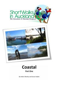 Coastal walks in Auckland book (part 1)