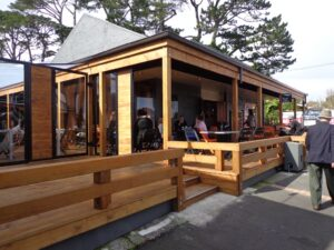 The Block cafe at Blockhouse Bay
