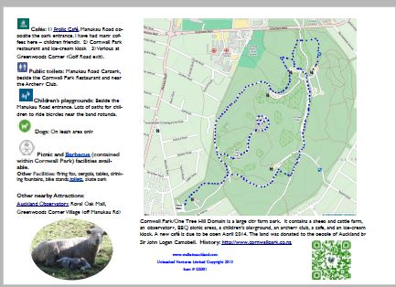 Brochure Map Page