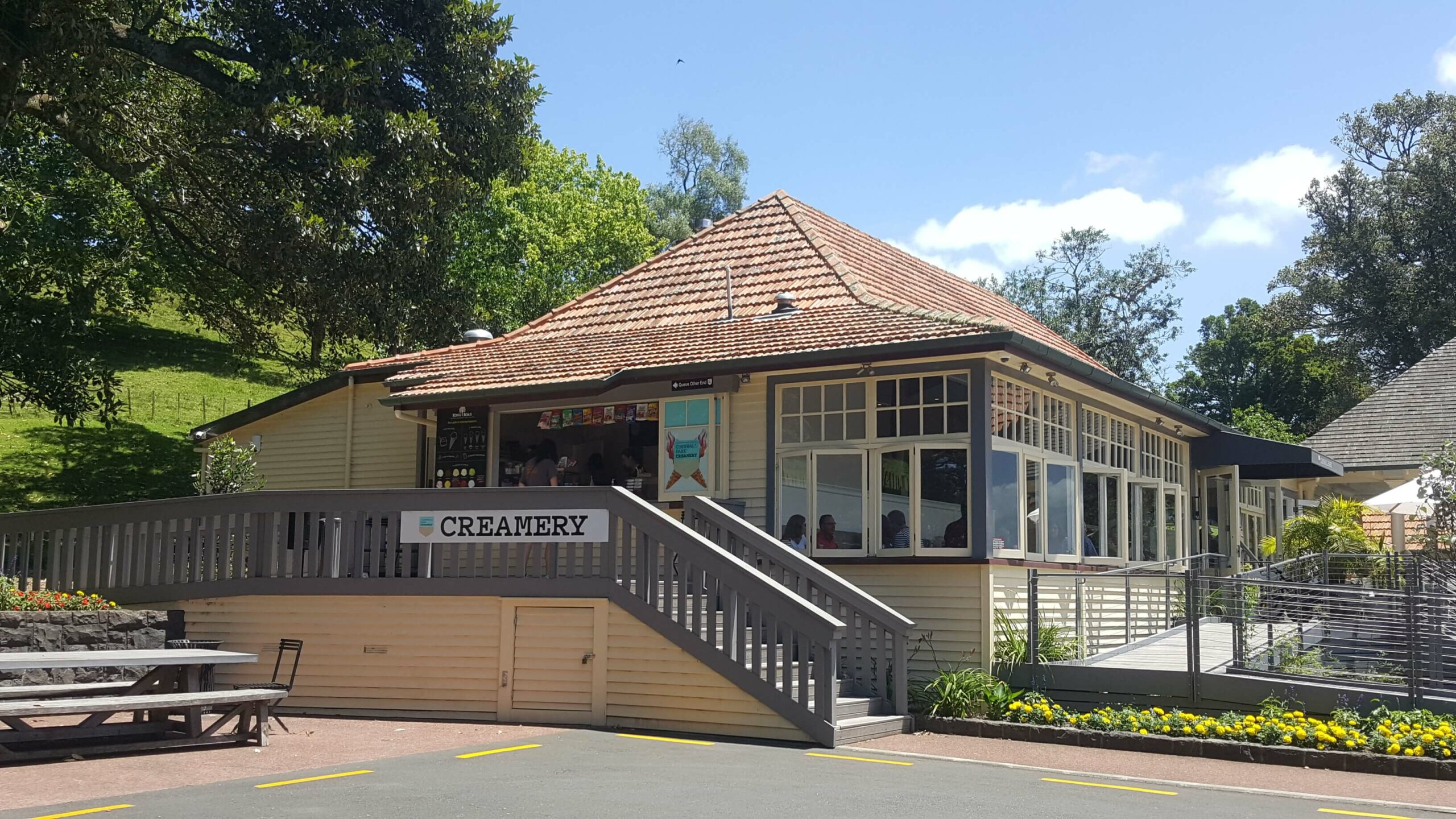 Ice Cream and Restaurant at Cornwall Park