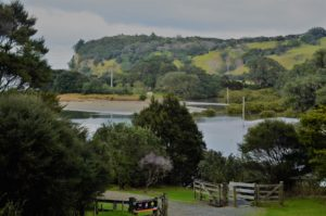 Views across the Inlet to Te Muri Beach Mahurangi Regional Park