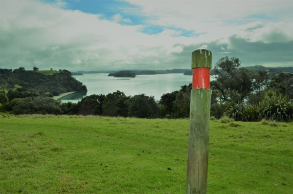 The red markers indicate the Cudlip Point Mahurangi track