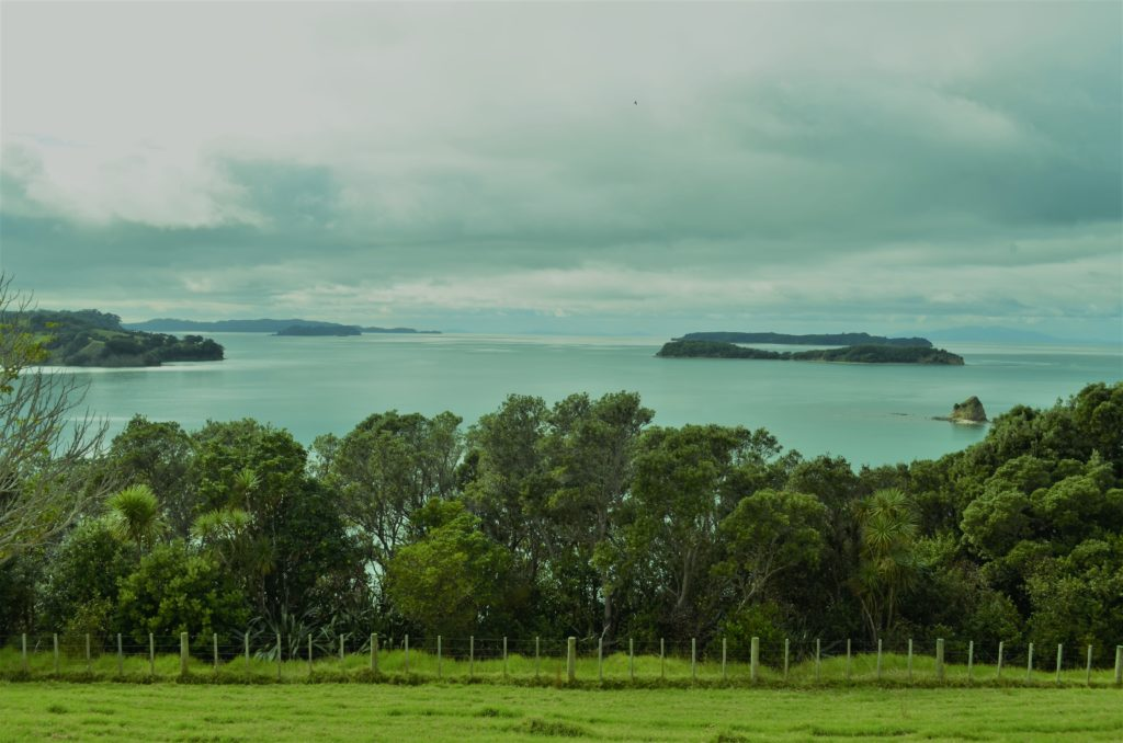 Northland Coastline from Mahurangi Regional Park with Motuora and Kawau Islands