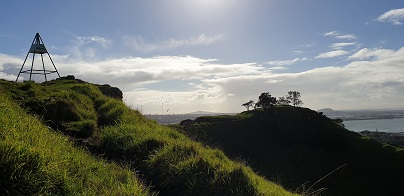 Mangere Mountain Trig