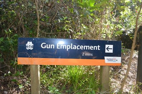 Long Bay Gun Emplacement