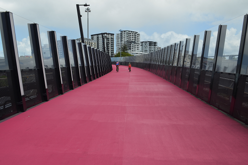 Auckland Pink Bike Path