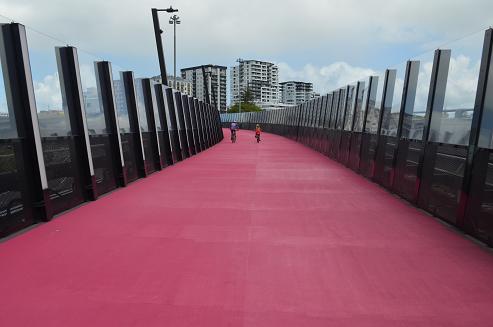 Auckland Pink Bike Path